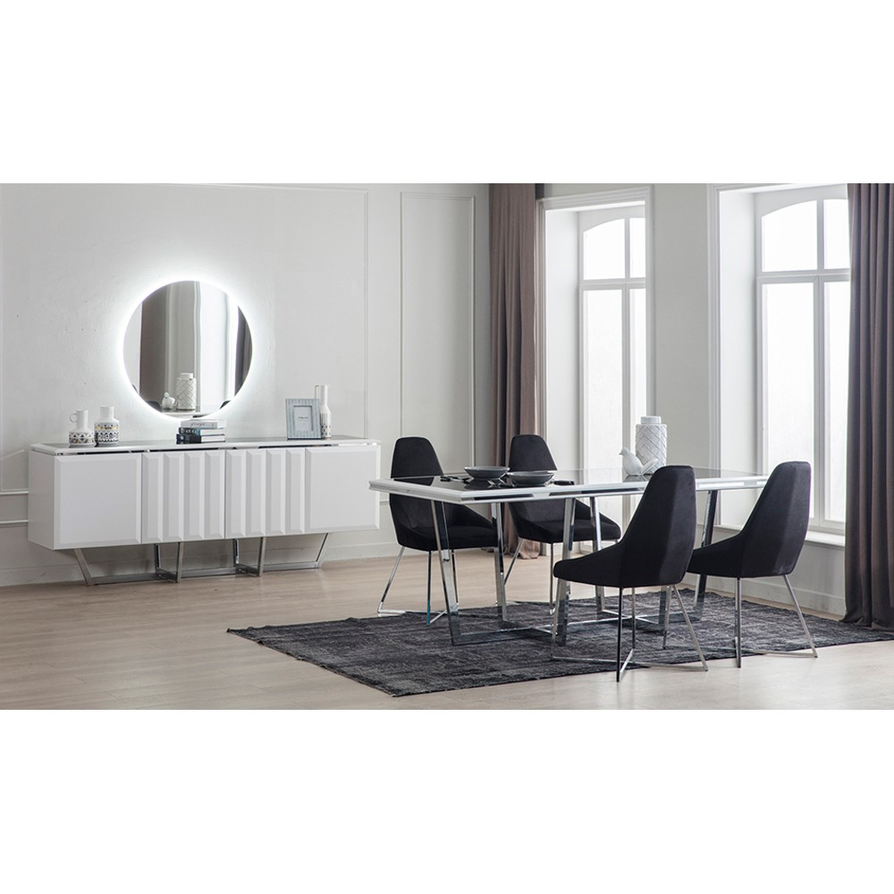 Weiße Möbel: Traumhaft Weisse Esszimmer Möbel Im Set Kaufen Bei
