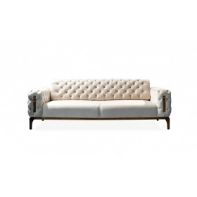 3 Sitzer Sofa in Beige Clas