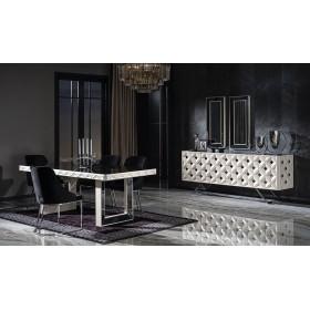 Esszimmer Möbel Silber Asus