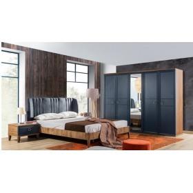 Schlafzimmer Angela blau